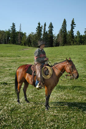 Dale on Horse
